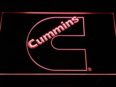 Cummins LED Neon Sign - Red - SafeSpecial