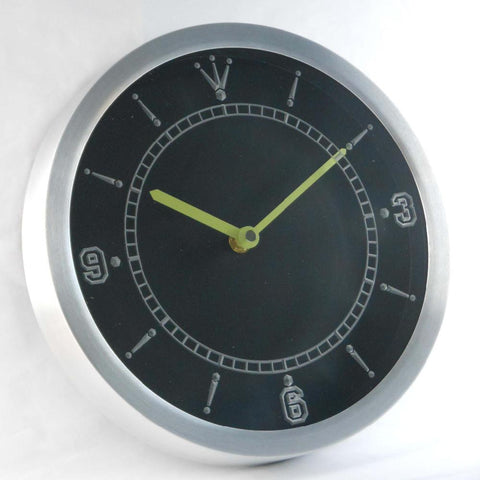 Image of Custom LED Neon Wall Clock - Design Your Own - - SafeSpecial