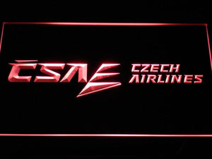Czech Airlines LED Neon Sign - Red - SafeSpecial