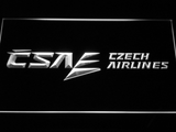 Czech Airlines LED Neon Sign - White - SafeSpecial