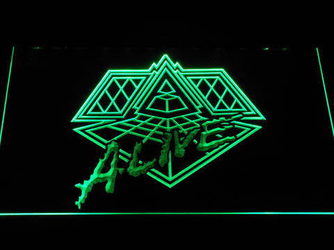 Daft Punk Alive LED Neon Sign - Green - SafeSpecial
