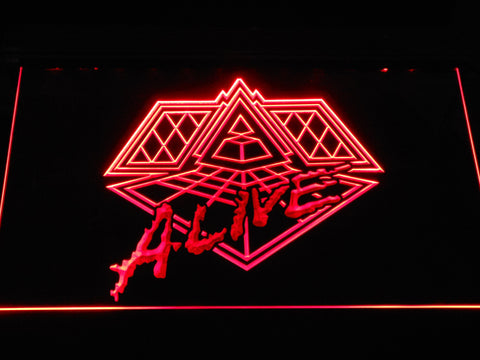Daft Punk Alive LED Neon Sign - Red - SafeSpecial