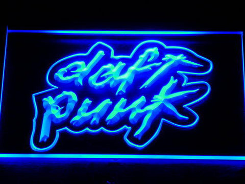 Daft Punk LED Neon Sign - Blue - SafeSpecial