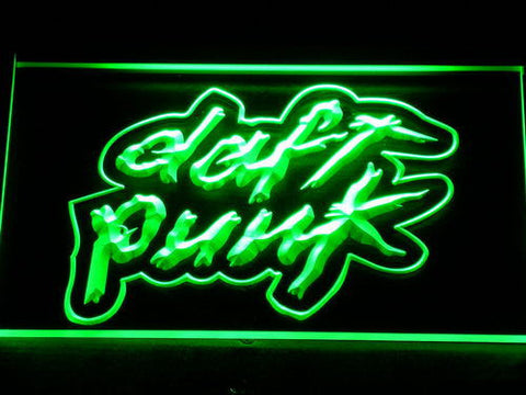 Image of Daft Punk LED Neon Sign - Green - SafeSpecial
