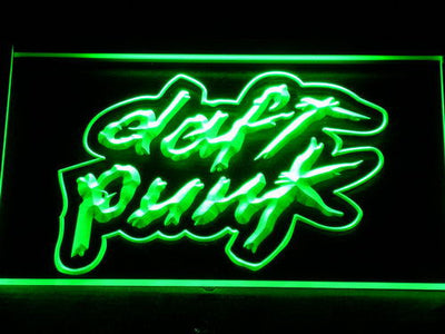 Daft Punk LED Neon Sign - Green - SafeSpecial