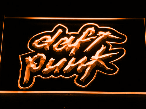 Daft Punk LED Neon Sign - Orange - SafeSpecial