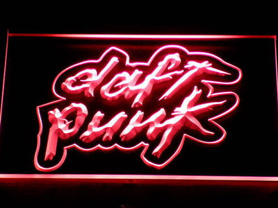Daft Punk LED Neon Sign - Red - SafeSpecial