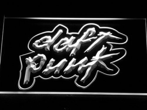 Image of Daft Punk LED Neon Sign - White - SafeSpecial