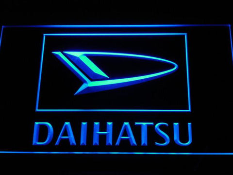 Image of Daihatsu LED Neon Sign - Blue - SafeSpecial