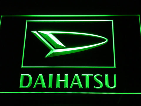 Image of Daihatsu LED Neon Sign - Green - SafeSpecial