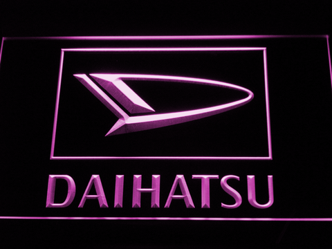 Image of Daihatsu LED Neon Sign - Purple - SafeSpecial