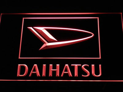 Daihatsu LED Neon Sign - Red - SafeSpecial