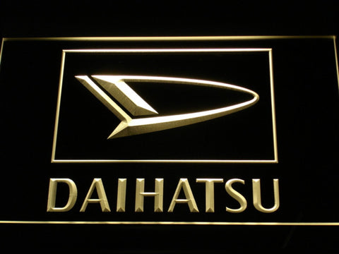 Image of Daihatsu LED Neon Sign - Yellow - SafeSpecial