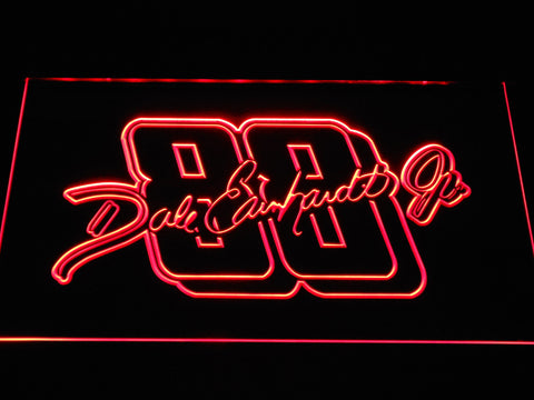 Dale Earnhardt Jr. Signature 88 LED Neon Sign - Red - SafeSpecial