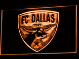 Dallas FC LED Neon Sign - Orange - SafeSpecial
