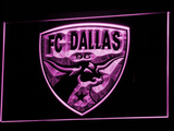 Dallas FC LED Neon Sign - Purple - SafeSpecial