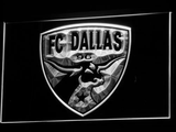 Dallas FC LED Neon Sign - White - SafeSpecial
