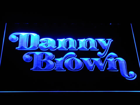 Danny Brown LED Neon Sign - Blue - SafeSpecial