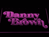 Danny Brown LED Neon Sign - Purple - SafeSpecial