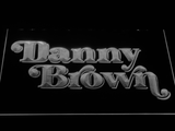 Danny Brown LED Neon Sign - White - SafeSpecial
