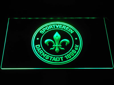 Darmstadt 98 LED Neon Sign - Green - SafeSpecial