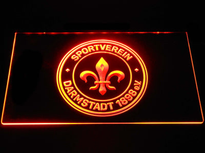 Darmstadt 98 LED Neon Sign - Orange - SafeSpecial