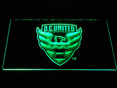 D.C. United LED Neon Sign - Green - SafeSpecial