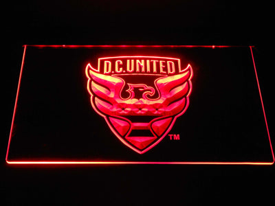 D.C. United LED Neon Sign - Red - SafeSpecial