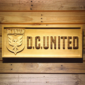 DC United Wooden Sign - Legacy Edition - Small - SafeSpecial