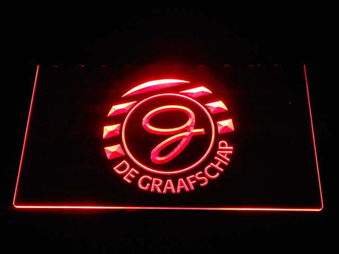 Image of De Graafschap LED Neon Sign - Red - SafeSpecial