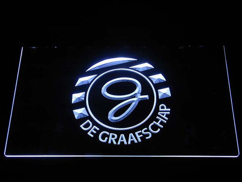 Image of De Graafschap LED Neon Sign - White - SafeSpecial