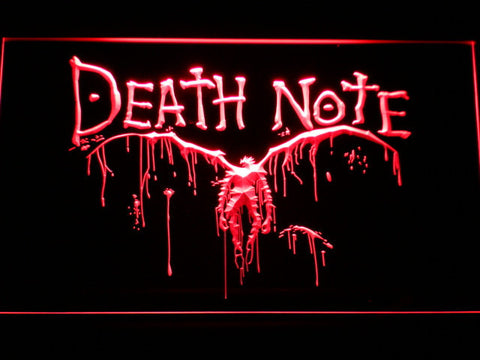 Image of Death Note Ryuk LED Neon Sign - Red - SafeSpecial