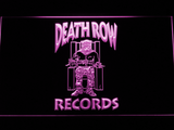 Death Row Records LED Neon Sign - Purple - SafeSpecial