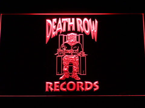 Death Row Records LED Neon Sign - Red - SafeSpecial