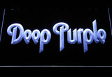 Deep Purple LED Neon Sign - White - SafeSpecial