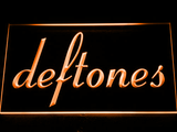 Deftones LED Neon Sign - Orange - SafeSpecial