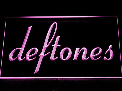 Deftones LED Neon Sign - Purple - SafeSpecial