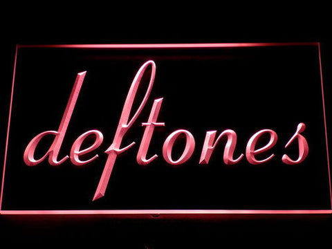 Deftones LED Neon Sign - Red - SafeSpecial