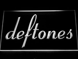 Deftones LED Neon Sign - White - SafeSpecial