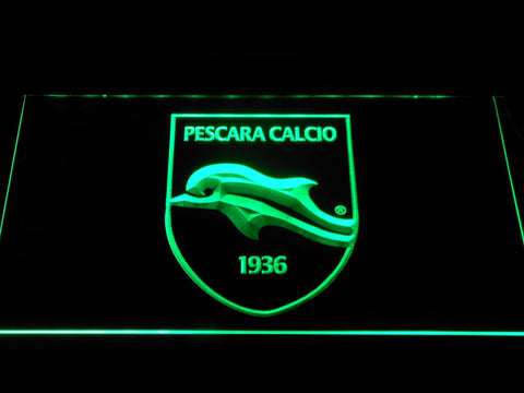 Delfino Pescara 1936 LED Neon Sign - Green - SafeSpecial