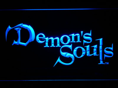 Demon's Souls LED Neon Sign - Blue - SafeSpecial