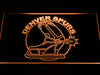Denver Spurs LED Neon Sign - Legacy Edition - Orange - SafeSpecial