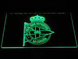 Deportivo de La Coruna LED Neon Sign - Green - SafeSpecial