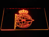Deportivo de La Coruna LED Neon Sign - Orange - SafeSpecial