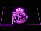Deportivo de La Coruna LED Neon Sign - Purple - SafeSpecial