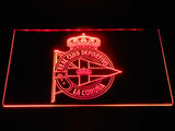 Deportivo de La Coruna LED Neon Sign - Red - SafeSpecial