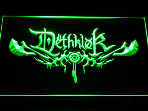 Image of Dethklok LED Neon Sign - Green - SafeSpecial