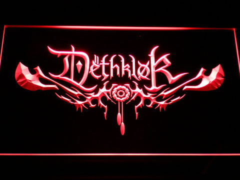 Image of Dethklok LED Neon Sign - Red - SafeSpecial