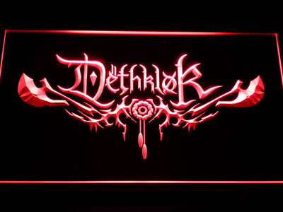 Dethklok LED Neon Sign - Red - SafeSpecial