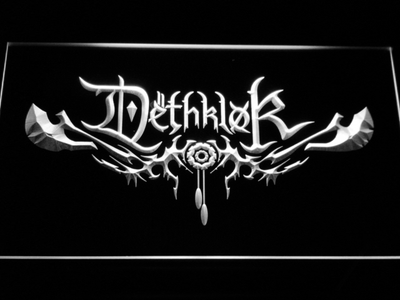 Dethklok LED Neon Sign - White - SafeSpecial